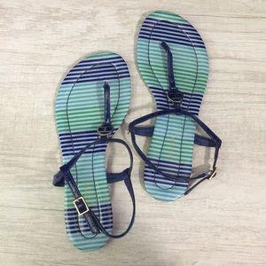 Striped Tommy Hilfiger sandals
